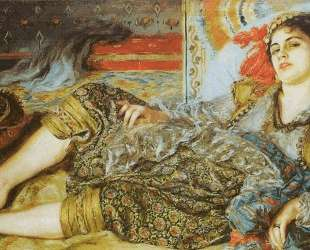 Odalisque (An Algerian Woman) — Пьер Огюст Ренуар