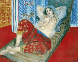 Odalisque in Red Culottes — Анри Матисс