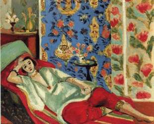 Odalisque in red trousers — Анри Матисс