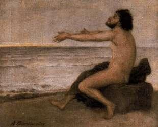 Odysseus by the sea — Арнольд Бёклин