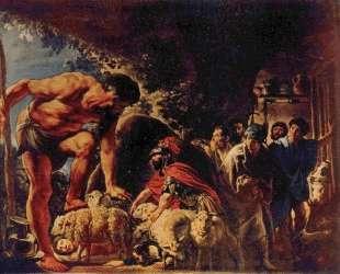 Odysseus in the Cave of Polyphemus — Якоб Йорданс