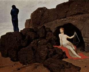 Odysseus und Kalypso — Арнольд Бёклин
