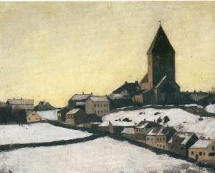 Старая церковь в Акере — Эдвард Мунк