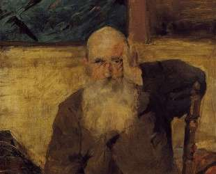 Old Man at Celeyran — Анри де Тулуз-Лотрек