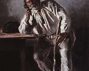 Старик с трубкой — Владимир Маковский