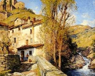 Old Mill, Pelago, Italy — Уиллард Меткалф