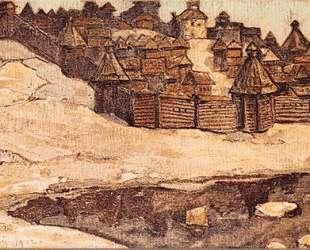 Old town — Николай Рерих