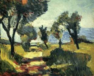Olive Trees — Анри Матисс