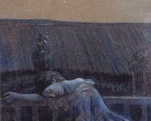 На балконе — Виктор Борисов-Мусатов