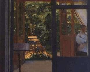 На балконе — Константин Сомов