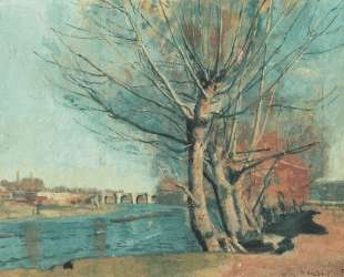 On the banks of the Manzanares — Фердинанд Ходлер