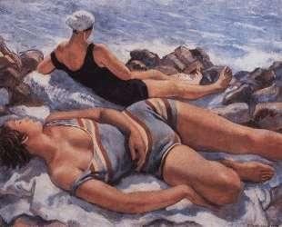 На пляже — Зинаида Серебрякова