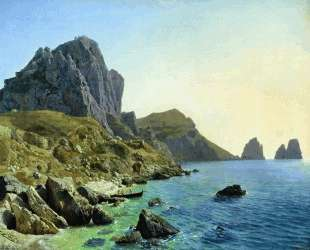 On the island of Capri. Coastal cliffs. — Лев Лагорио
