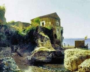 On the island of Capri. Fisher's house. — Лев Лагорио