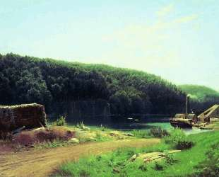 На острове Валааме — Фёдор Васильев