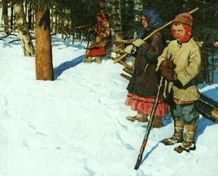 На облаве — Николай Богданов-Бельский