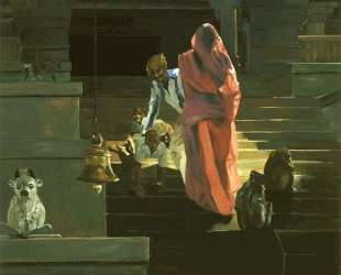 On the Stairs of the Temple — Эрик Фишль