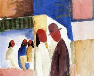 On the Street — Август Маке
