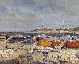 On The Volga — Константин Юон