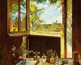 Открытая дверь в сад — Константин Сомов