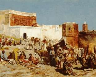 Open Market, Morocco — Эдвин Лорд Уикс