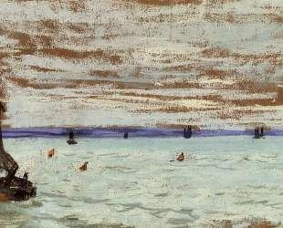 Открытое море — Клод Моне