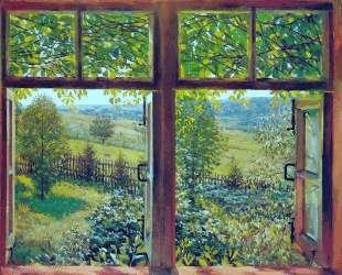 Open Window. Ligachevo — Константин Юон