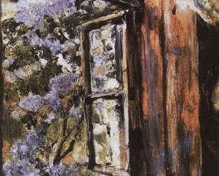 Открытое окно. Сирень — Валентин Серов