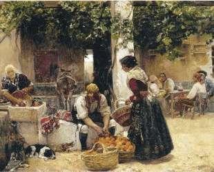 Orange seller — Хоакин Соролья