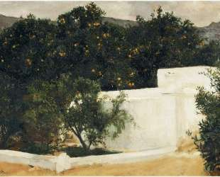 Orange trees on the road to Seville — Хоакин Соролья