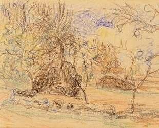 Orchard — Альфред Сислей
