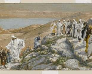 Ordaining of the Twelve Apostles — Джеймс Тиссо