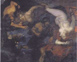 Orestes and the Erinyes — Франц фон Штук