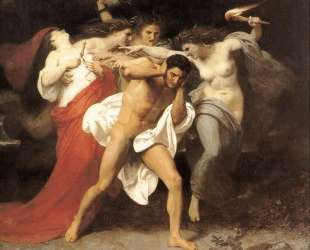 Orestes Pursued by the Furies — Вильям Адольф Бугро