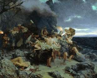 Orgy of the Times of Tiberius on Capri — Генрих Семирадский