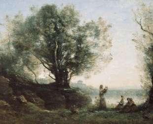 Орфей оплакивает Эвридику — Камиль Коро