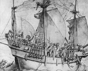Outgoing ship — Ганс Гольбейн Младший