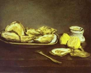 Oysters — Эдуард Мане