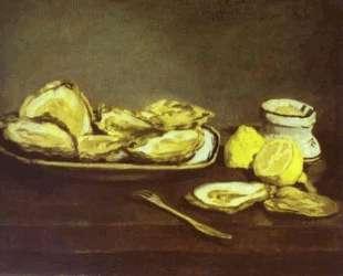 Oysters — Эдуард Мане