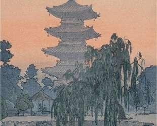 Pagoda in Kyoto — Тоси Ёсида