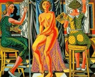 Painters and Model — Рафаэль Забалета