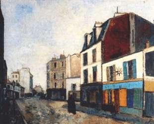 Paintshop at Saint Ouen — Морис Утрилло