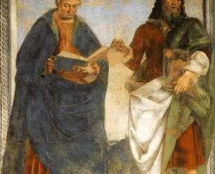 Pair of Apostles in Dispute — Лука Синьорелли