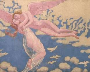 Panel 7. Cupid Carrying Psyche Up to Heaven — Морис Дени