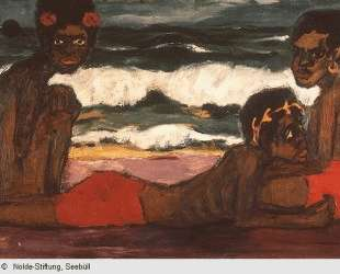 Papuan youth — Эмиль Нольде