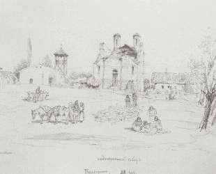 Парачин. 28 сентября 1876 г. — Василий Поленов