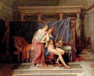 Парис и Елена — Жак Луи Давид