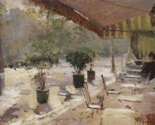 Парижское кафе — Константин Коровин