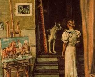 Парижская студия художника — Джорджо де Кирико