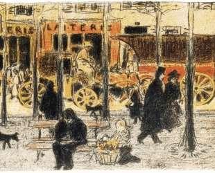 Parisian Boulevard — Пьер Боннар
